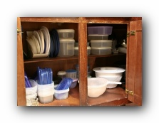tupperware gladware plastic containers food storage organization