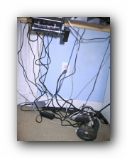 computer cable organization cord management