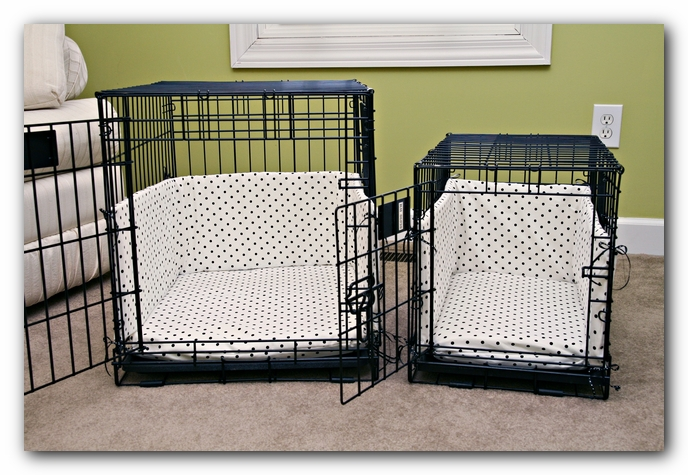 Dog Crate Beds With Bumpers