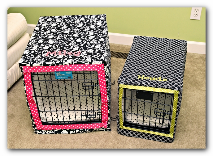 Build A Dog Crate Cover