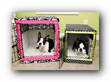 handmade dog crate covers