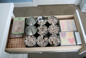 rubber stamp tapestry stamps organization