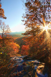 Most Gorgeous Places for Fall Leaves: Blue Ridge, GA