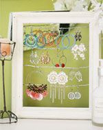 Picture Frame Earring Display