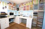 Amanda's Scrapbooking Room