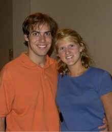 Photo of Kevin and Amanda in the early years