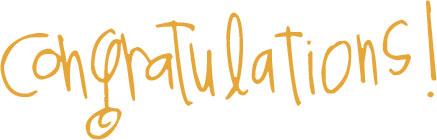 congratulations rebecca!