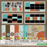 Creativity by Crystal - January 2009 - Project 365 Digital Kit