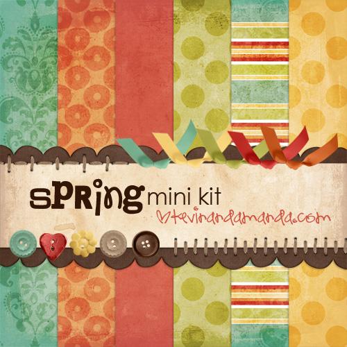 kevinandamanda spring mini kit