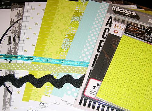 Scrapista 2009 Giveaway