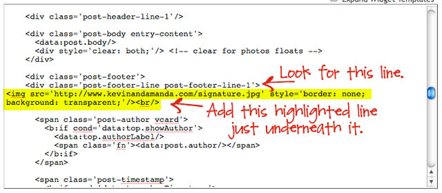 Signature Tutorial For Blogger and Blogspot