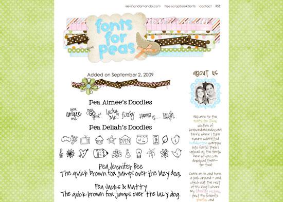 Free Handwriting Fonts — 600+ Free Fonts from Kevin & Amanda