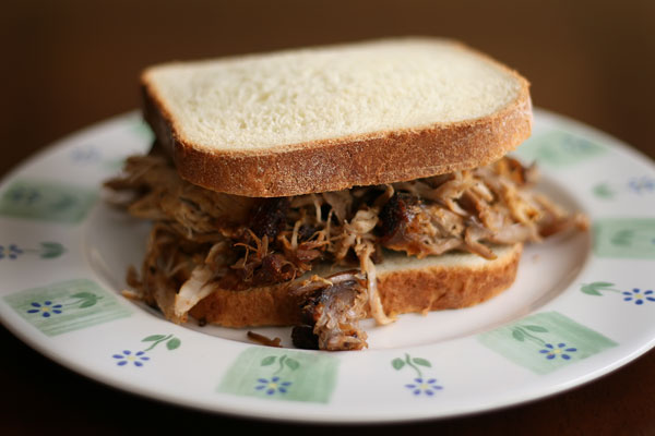 Perfect Pulled Pork Sandwiches with fresh Homemade Bread