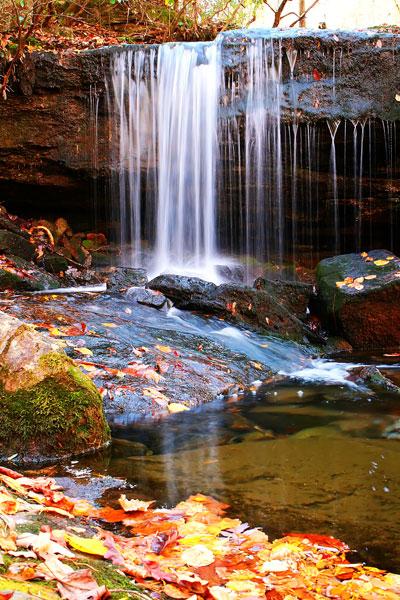 Waterfall - Kevin and Amanda