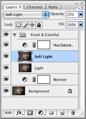 Image of Photoshop's Soft Light Action