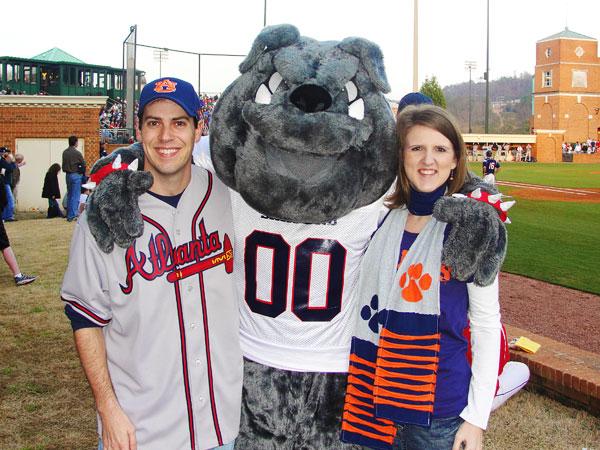 Auburn Tigers vs. Samford Bulldogs Baseball Game in Birmingham, Alabama