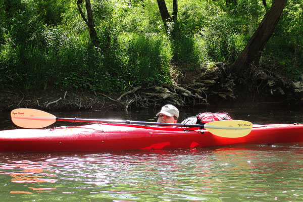 Kayaking the Flint River
