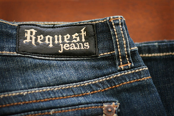 Request Denim Jeans Bootcut & Skinny / Straight leg