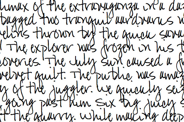 Free Handwriting Fonts   Turn Your Handwriting into a Font