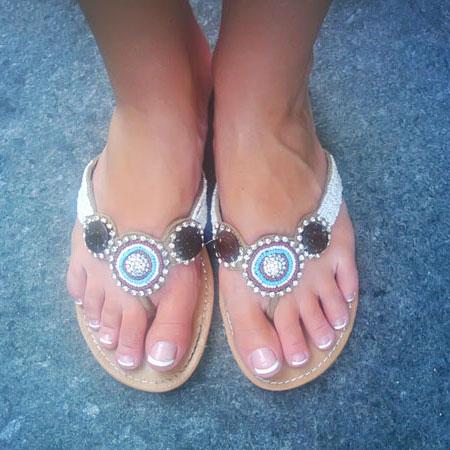 Soda Thong Sandals
