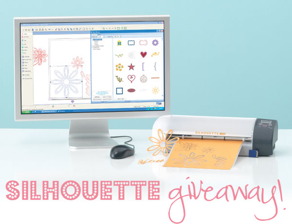 Silhouette Craft Cutter Giveaway