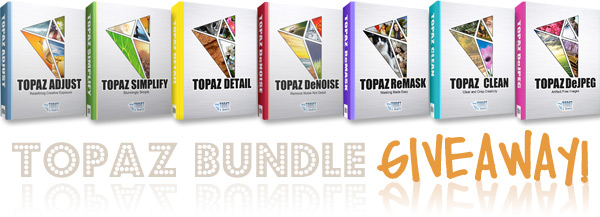 Topaz Photoshop Plugin Bundle Giveaway