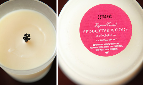 Seductive Woods Candle by Victoria's Secret