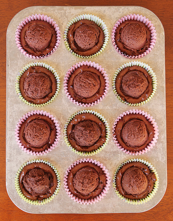 Brownie Batter Chocolate Fudge Cupcakes with Outrageously Rich Chocolate Indulgence Frosting