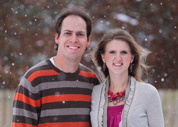 Kevin & Amanda White Christmas 2010
