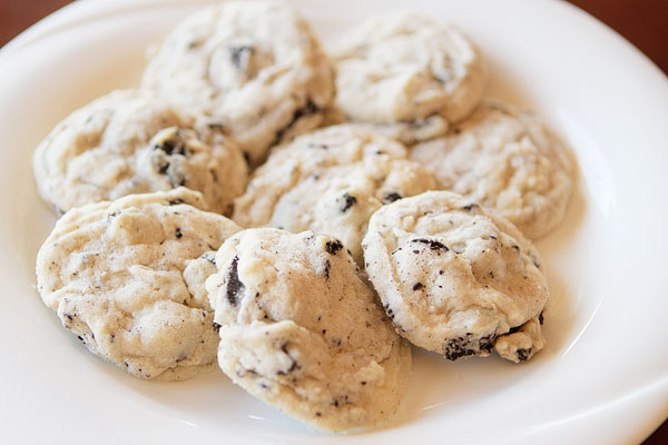 Mascarpone Oreo Snowflake Cookies