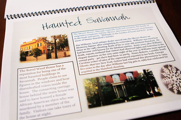 Image of my Haunted Savannah Itinerary from Kevin