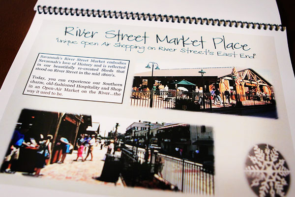 Image of Kevin's River Street Market Place Itinerary Page
