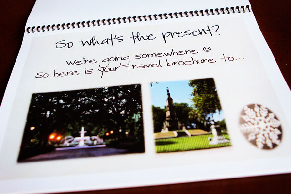 Image of my Travel Brochure from Kevin