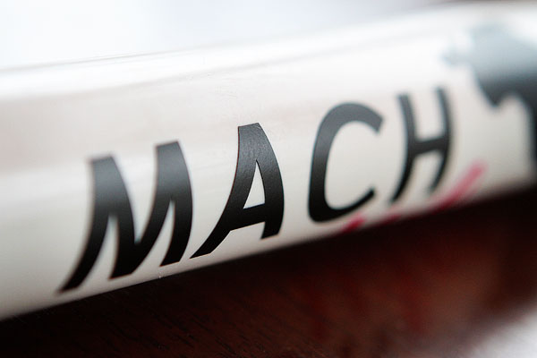 Extreme Close-Up Image of Miley's MACH Bar