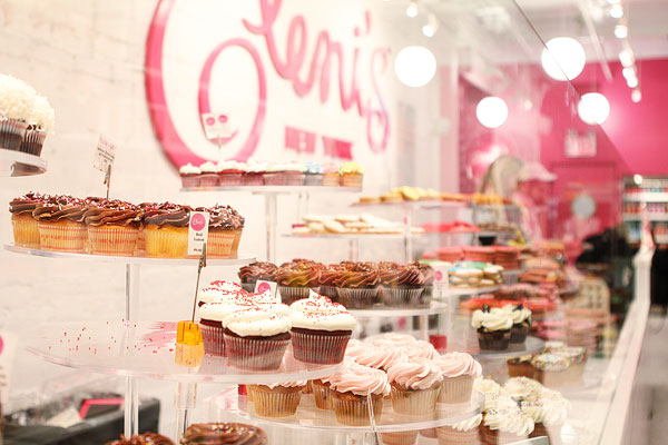 Best Cupcakes in NYC @ Eleni's in Chelsea Market