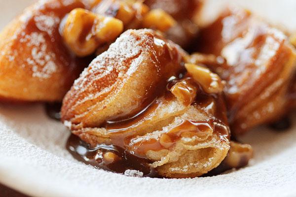 Image of Biscuit Beignets with Praline Sauce