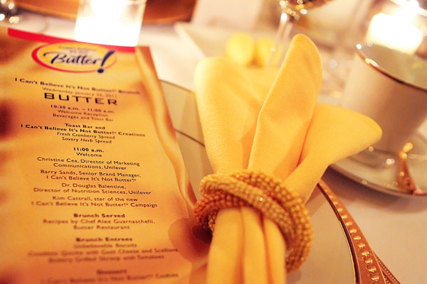 I Can't Believe It's Not Butter Launch Party with Alex Guarnaschelli and Kim Cattrall