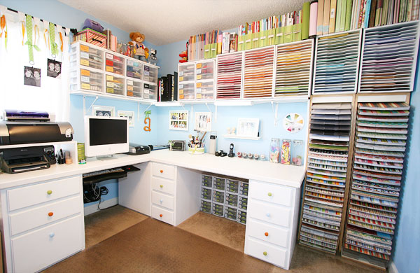 Kevin and Amanda's Scrapbook Room