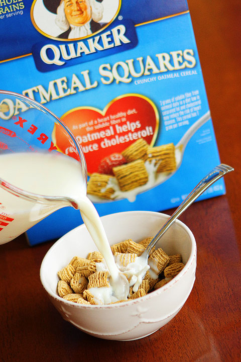 Image of Quaker Oatmeal Squares Cereal