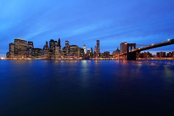 Sunset at Brooklyn Bridge Park | New York in the Fall