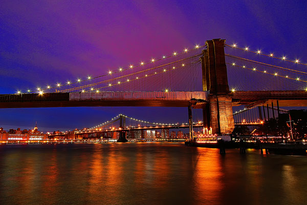 Sunset at Brooklyn Bridge Park | New York in the Fall