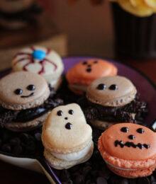 Image of Halloween Macarons