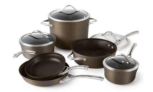 Black Friday Giveaway Calphalon Bronze Nonstick 11 Pc Cookware Set Winner Announced Kevin Amanda
