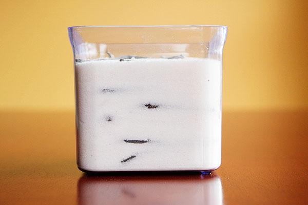 Make Vanilla Sugar with Leftover Vanilla Beans