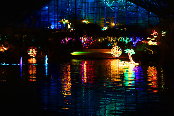 Holiday River of Lights in Albuquerque, New Mexico