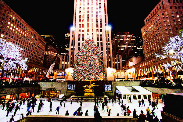 New York During Christmas Time.New York At Christmas Kevin Amanda