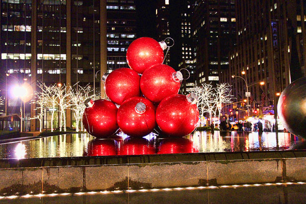 New York City at Christmas 2011