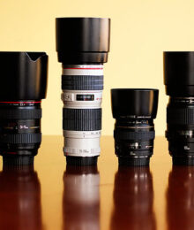 Image of Different Camera Lenses
