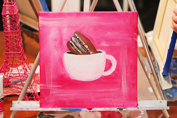 Chocolate Taste Testing and Macaron Social Painting Party