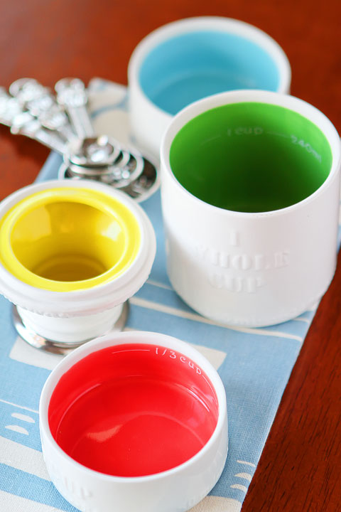 Anthropologie Milk Bottle Measuring Cups